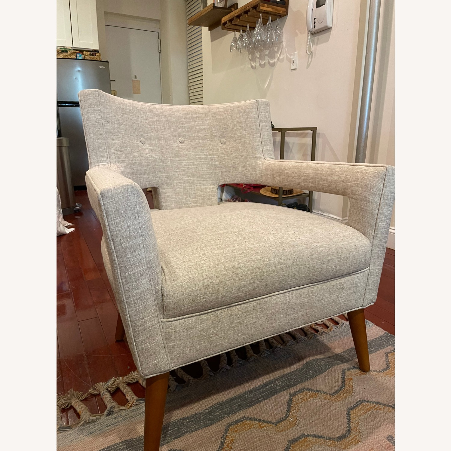 Modway Tufted Armchair - image-1