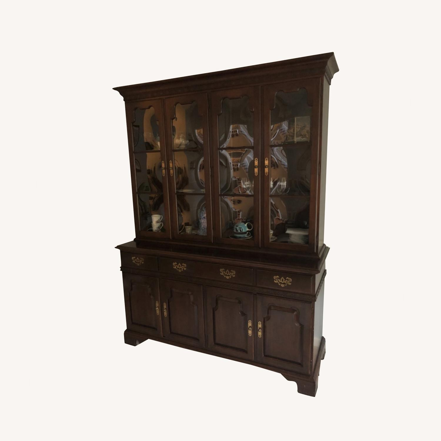Ethan Allen China Cabinet - image-0