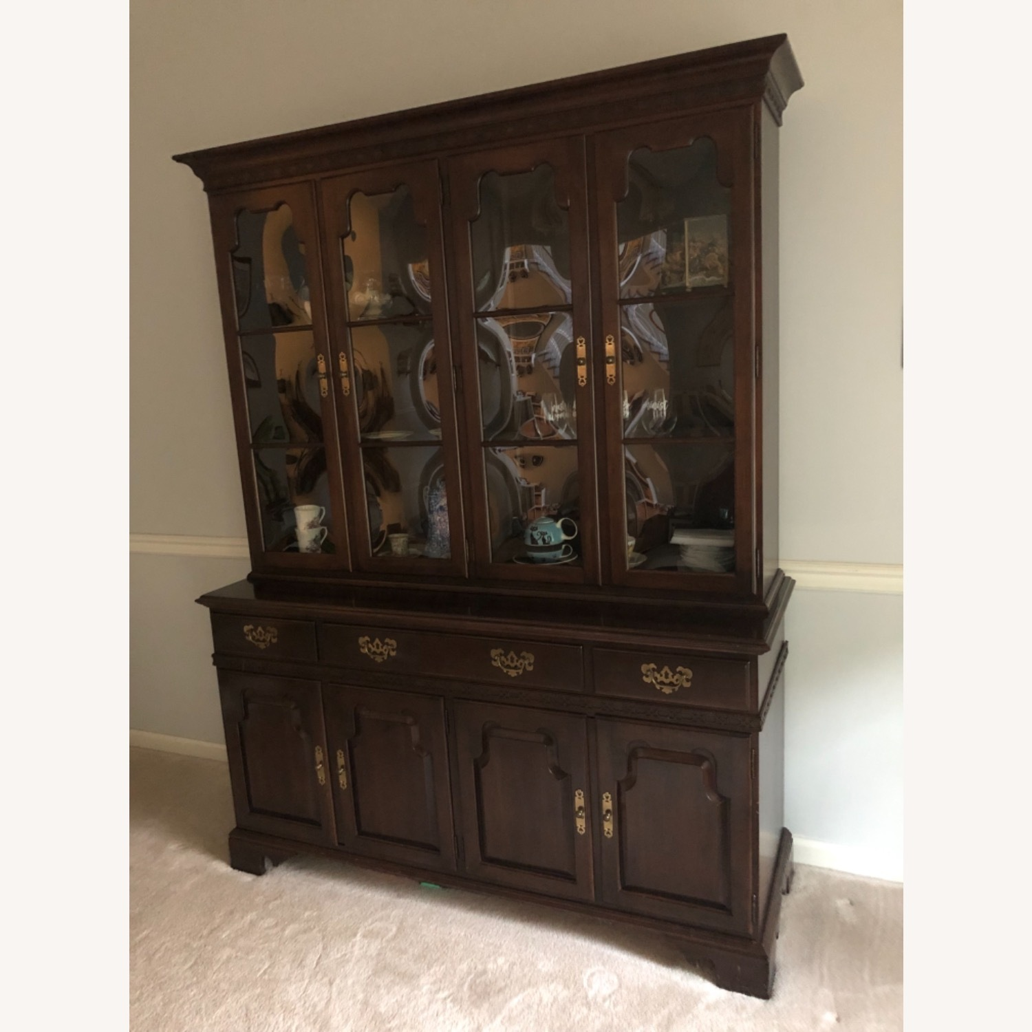 Ethan Allen China Cabinet - image-4