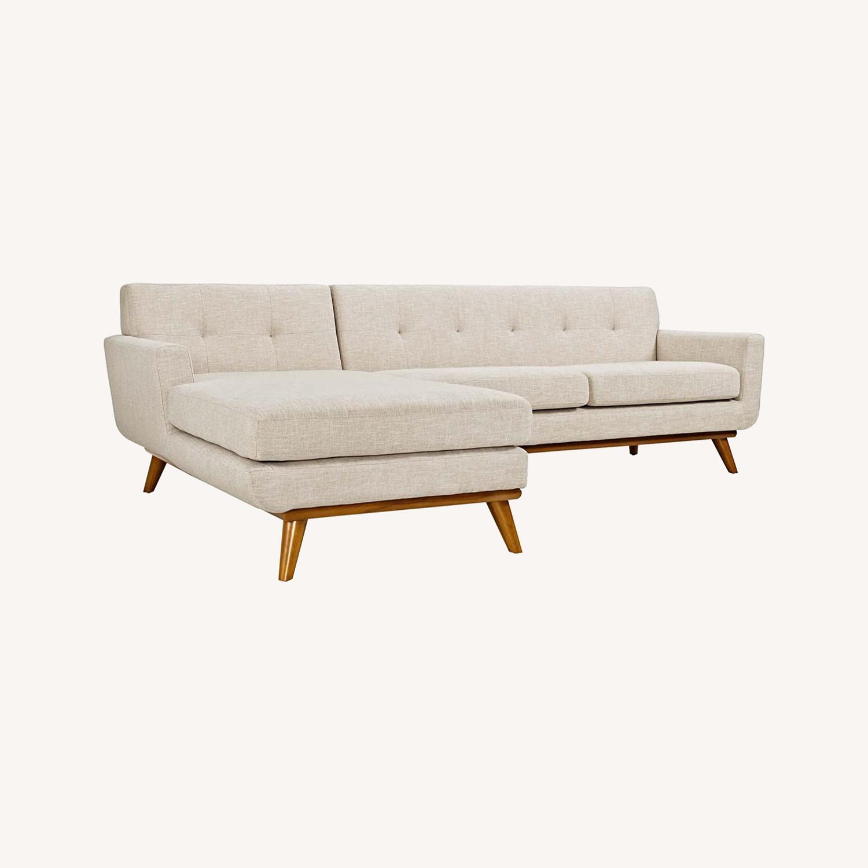 Modway Engage Left-Facing Sectional Sofa - image-0