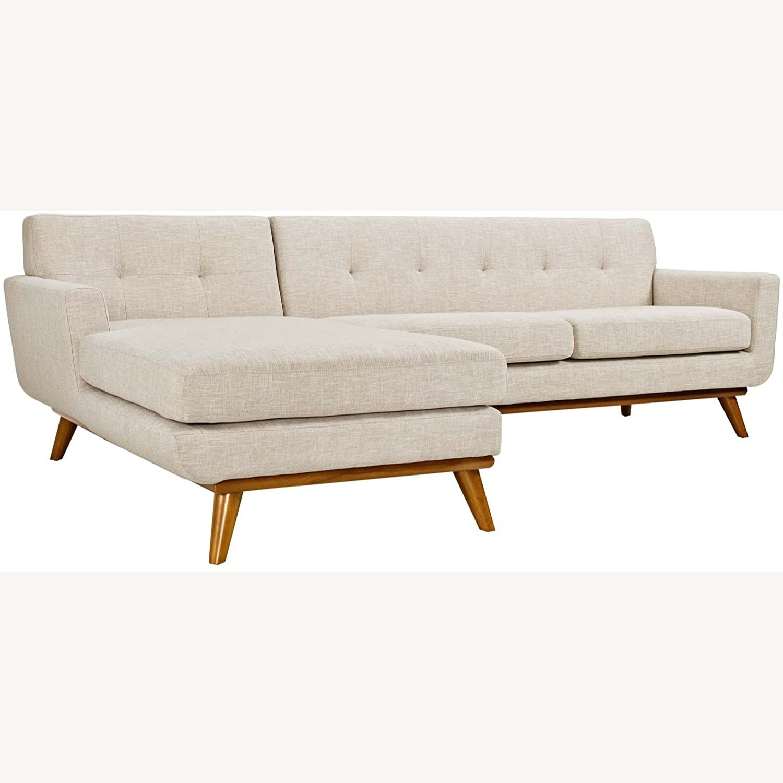 Modway Engage Left-Facing Sectional Sofa - image-1