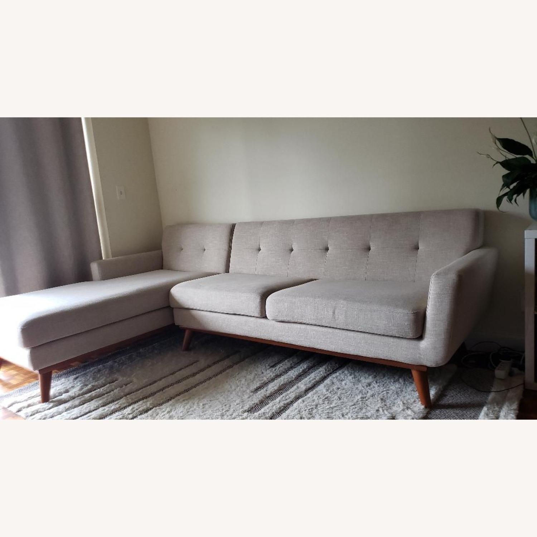 Modway Engage Left-Facing Sectional Sofa - image-2