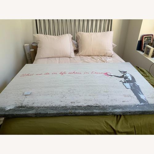 Used Banksy Print on Canvas for sale on AptDeco