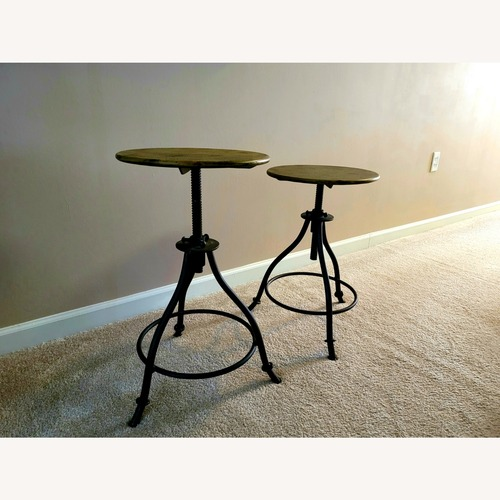 Used Adjustable Arhaus Barstools for sale on AptDeco