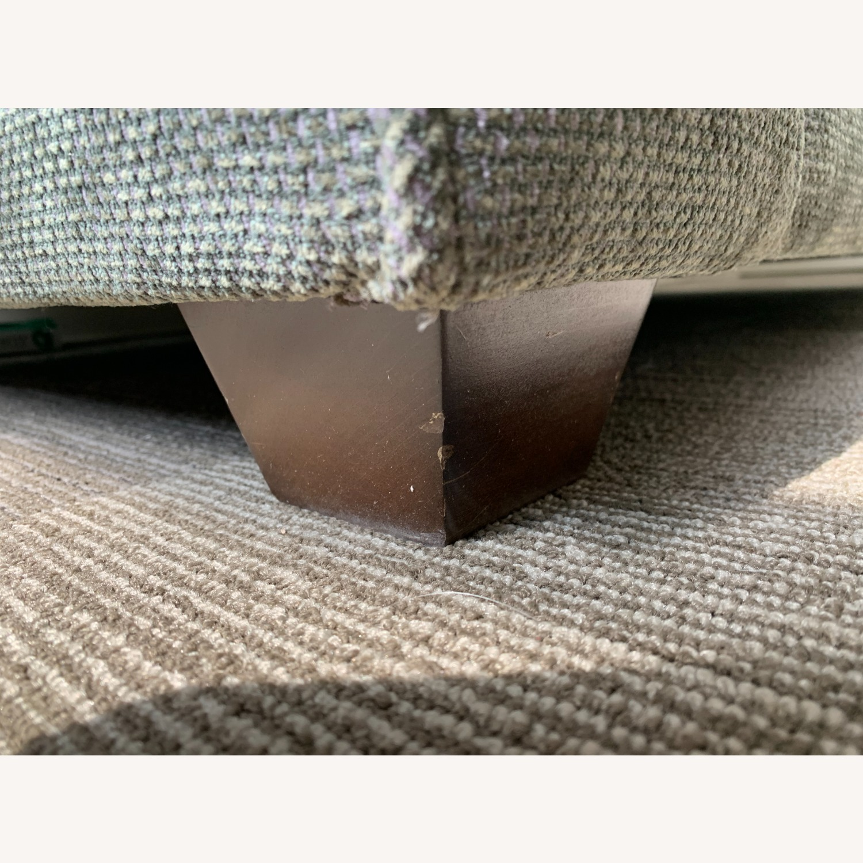 Chenille Sofa in classic Jean Michel Frank style - image-3