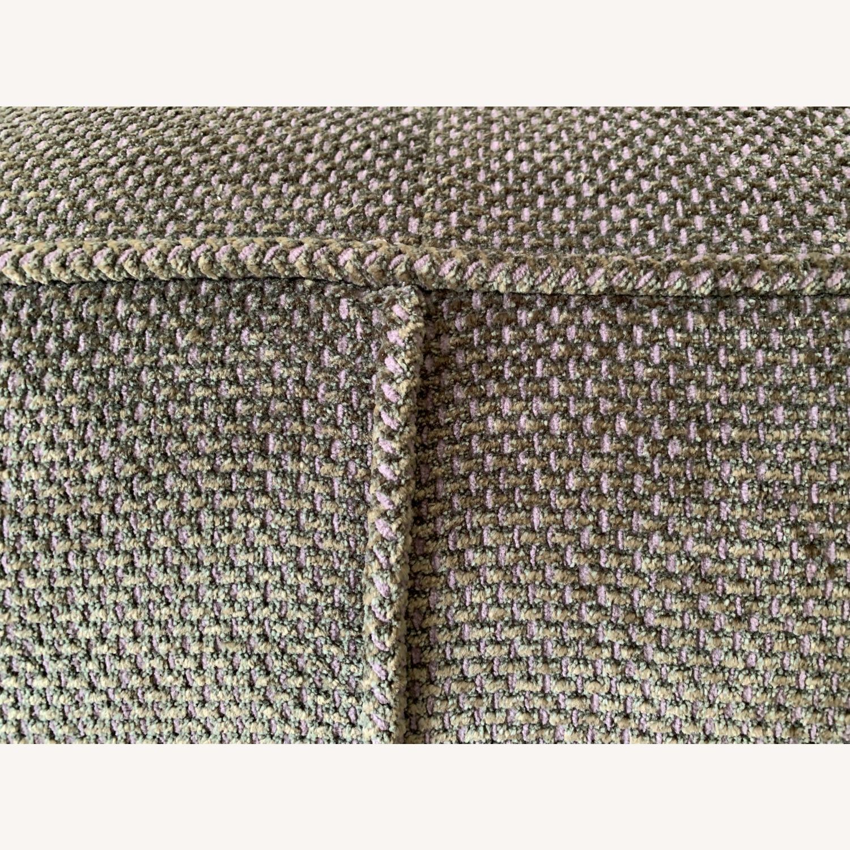 Chenille Sofa in classic Jean Michel Frank style - image-4