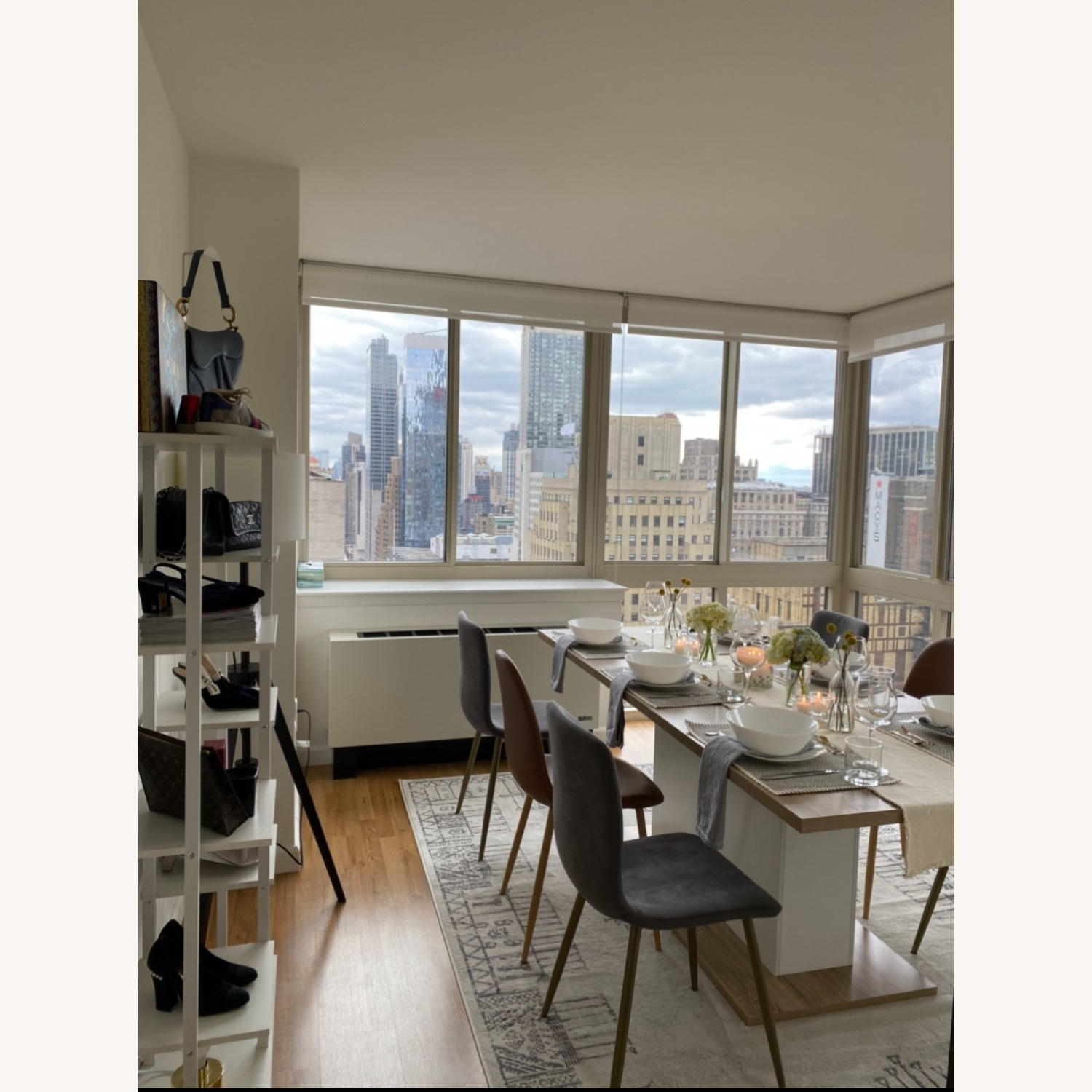 Wayfair Extendable Dining Table (seats up to 8) - image-1
