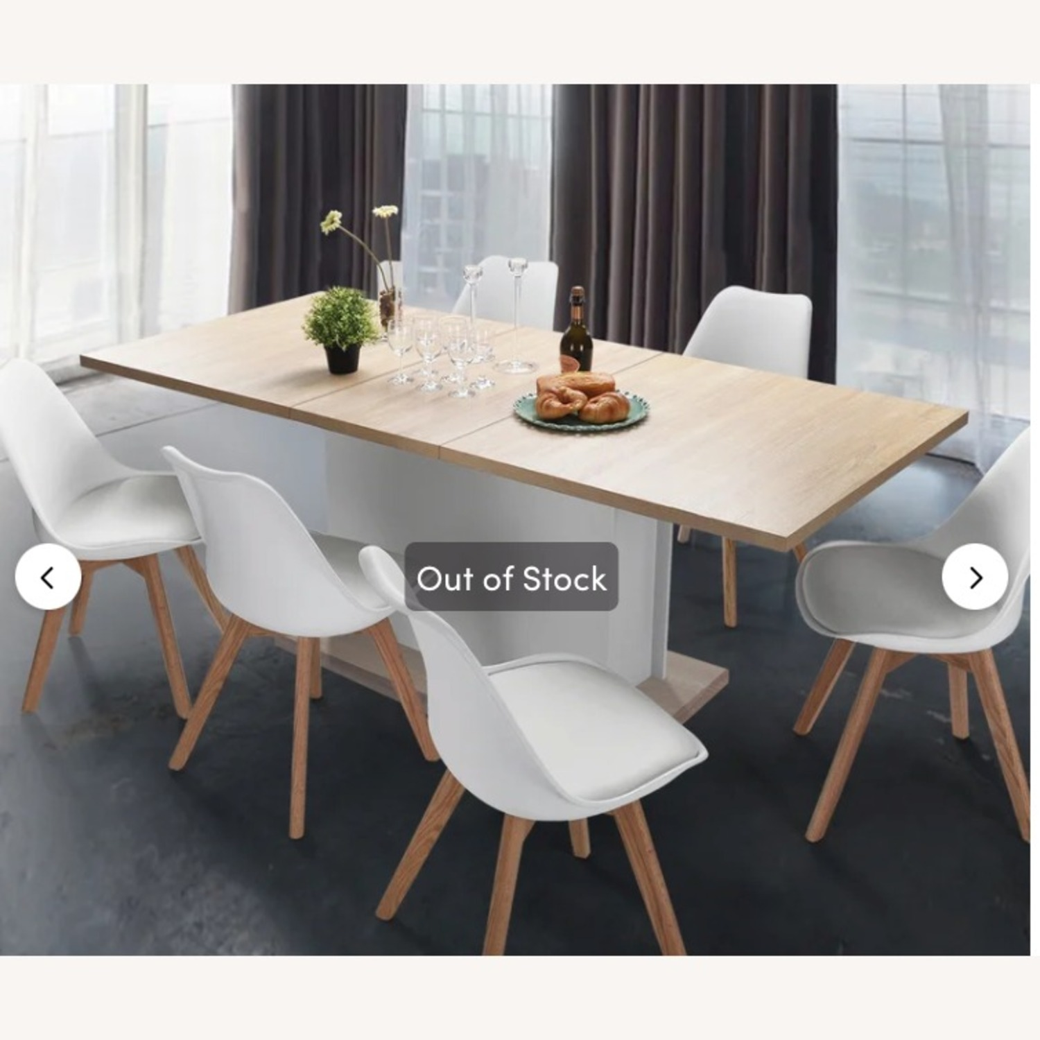 Wayfair Extendable Dining Table (seats up to 8) - image-3