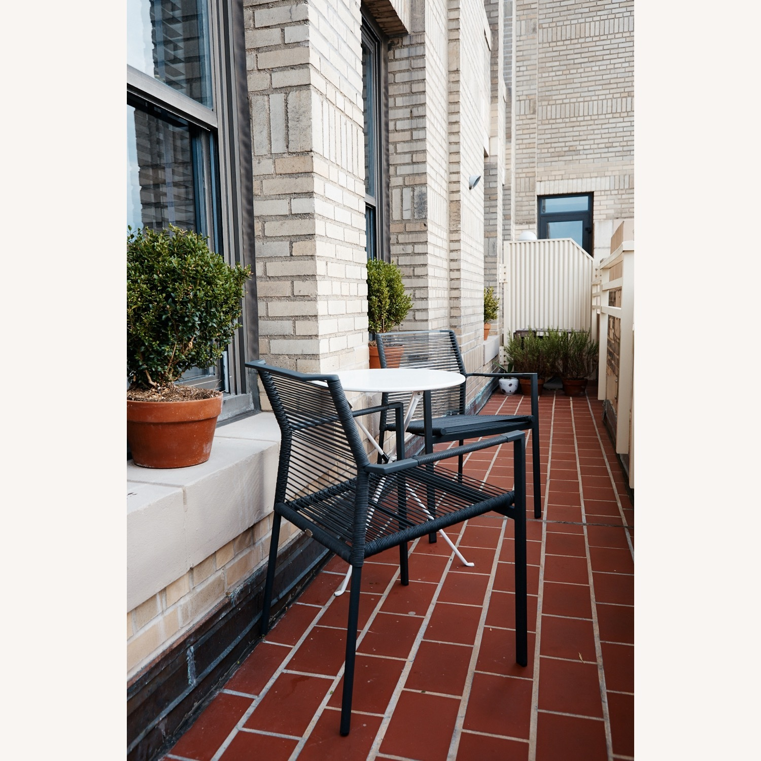 Set of 2 Cane-line Edge Outdoor Armchairs - image-3