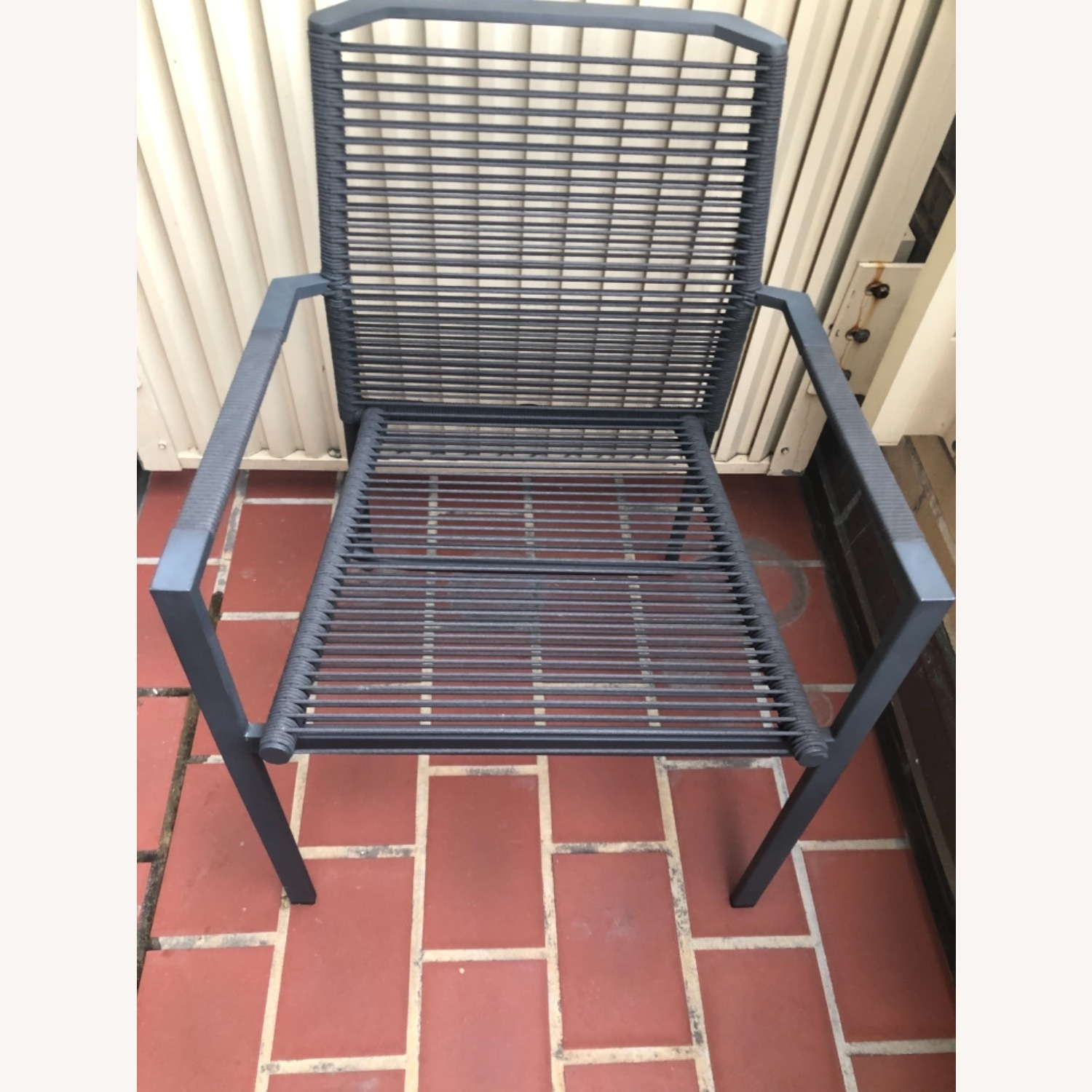 Set of 2 Cane-line Edge Outdoor Armchairs - image-4