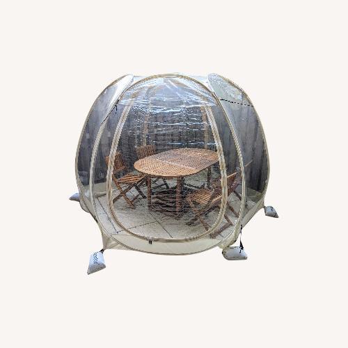 Used Alvantor 10'10' Outdoor Bubble Tent for sale on AptDeco