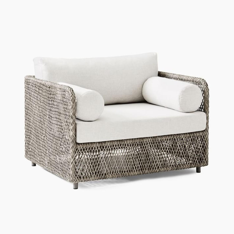 West Elm Coastal Lounge Chair, Individual - image-2