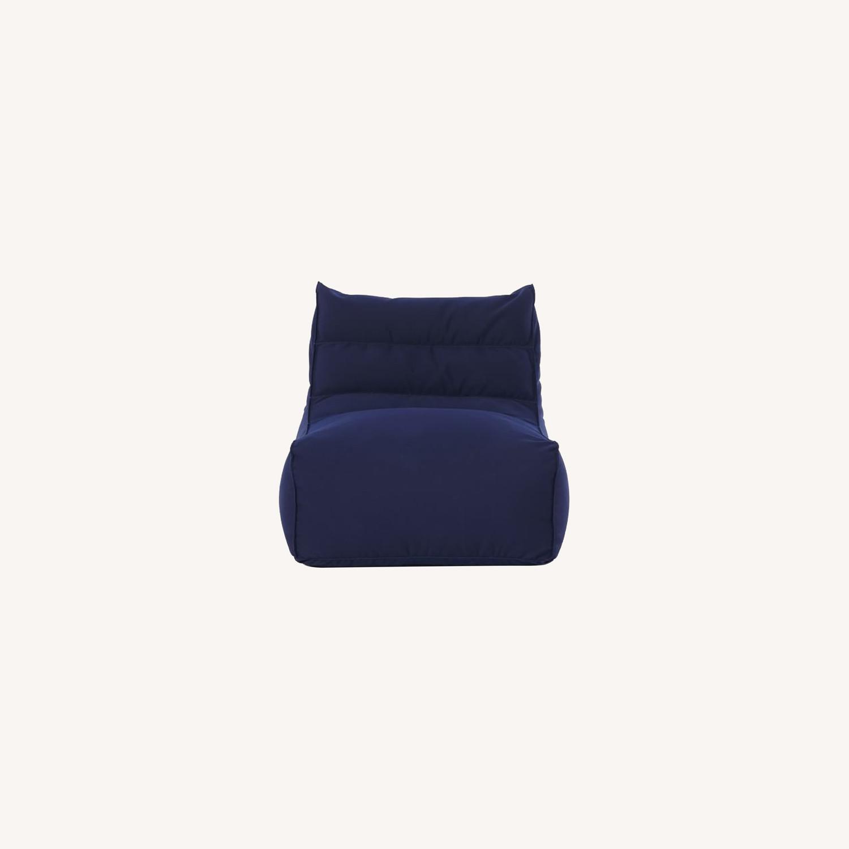 West Elm Sunbrella® Outdoor Bean Bag - image-0