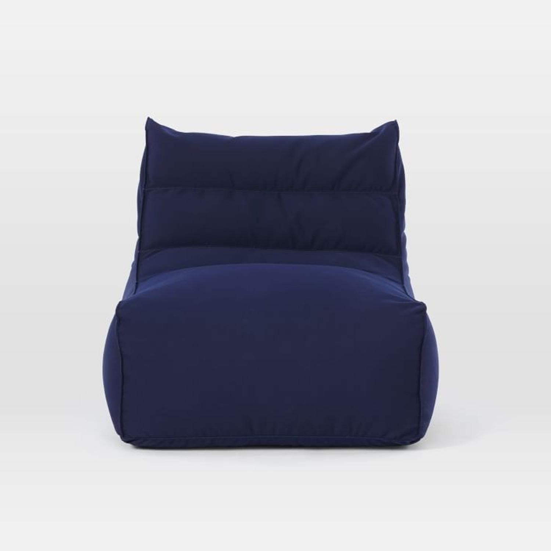 West Elm Sunbrella® Outdoor Bean Bag - image-2