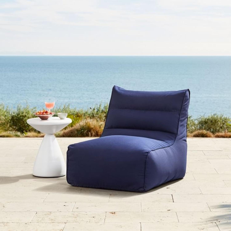 West Elm Sunbrella® Outdoor Bean Bag - image-3