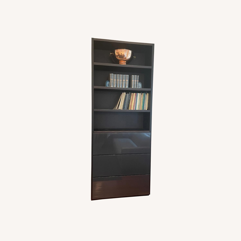 Poliform Bookshelf with Drawers - image-0