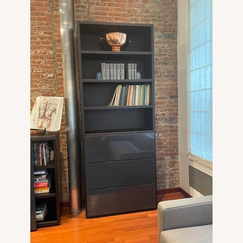 Used Poliform Bookshelf with Drawers for sale on AptDeco