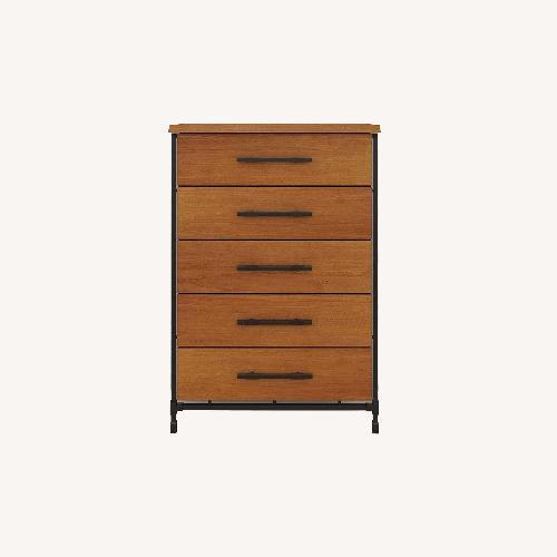 Used Scandinavian Design Karsten High Chest Dresser for sale on AptDeco