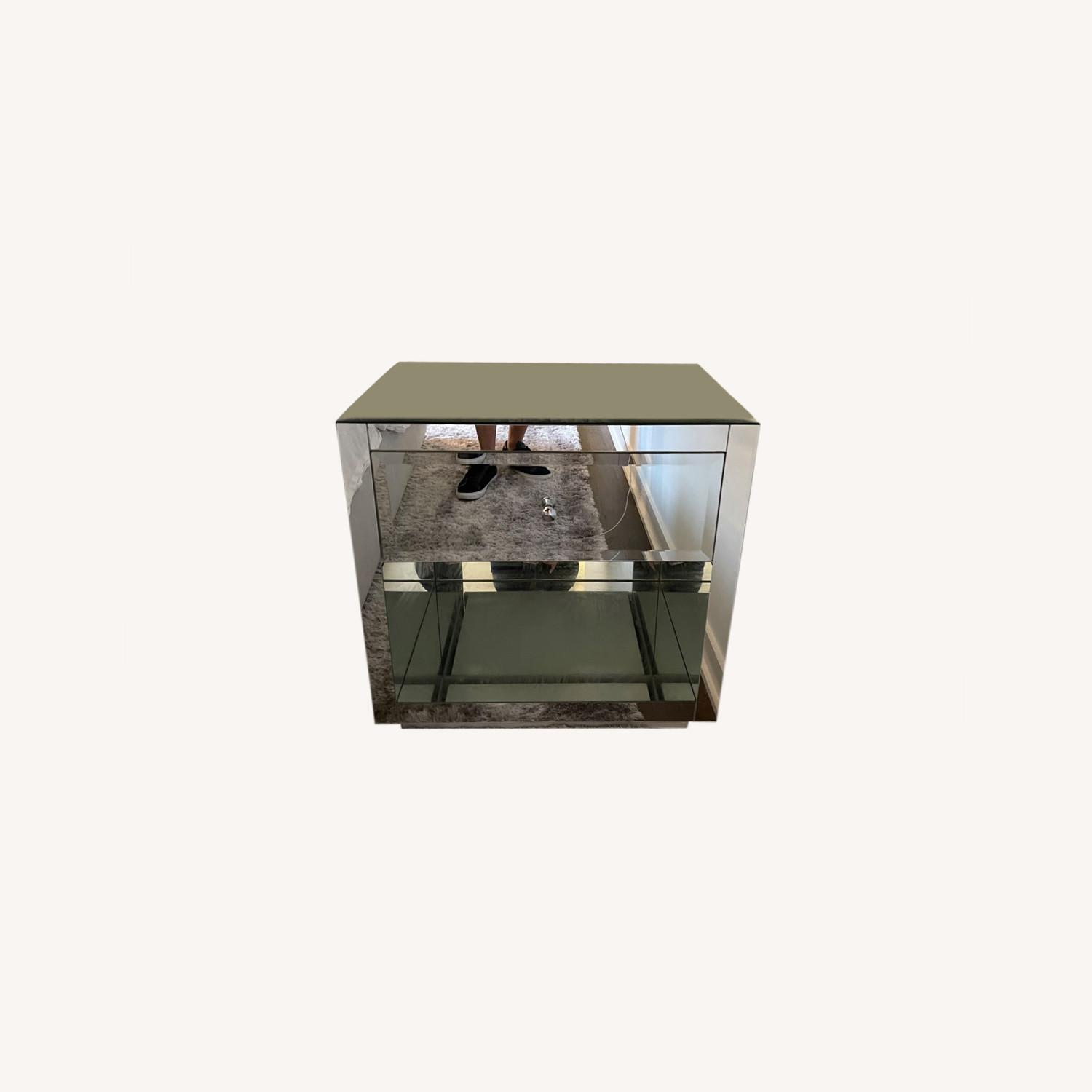 Horchow Hannah Mirrored Chest Set - image-0