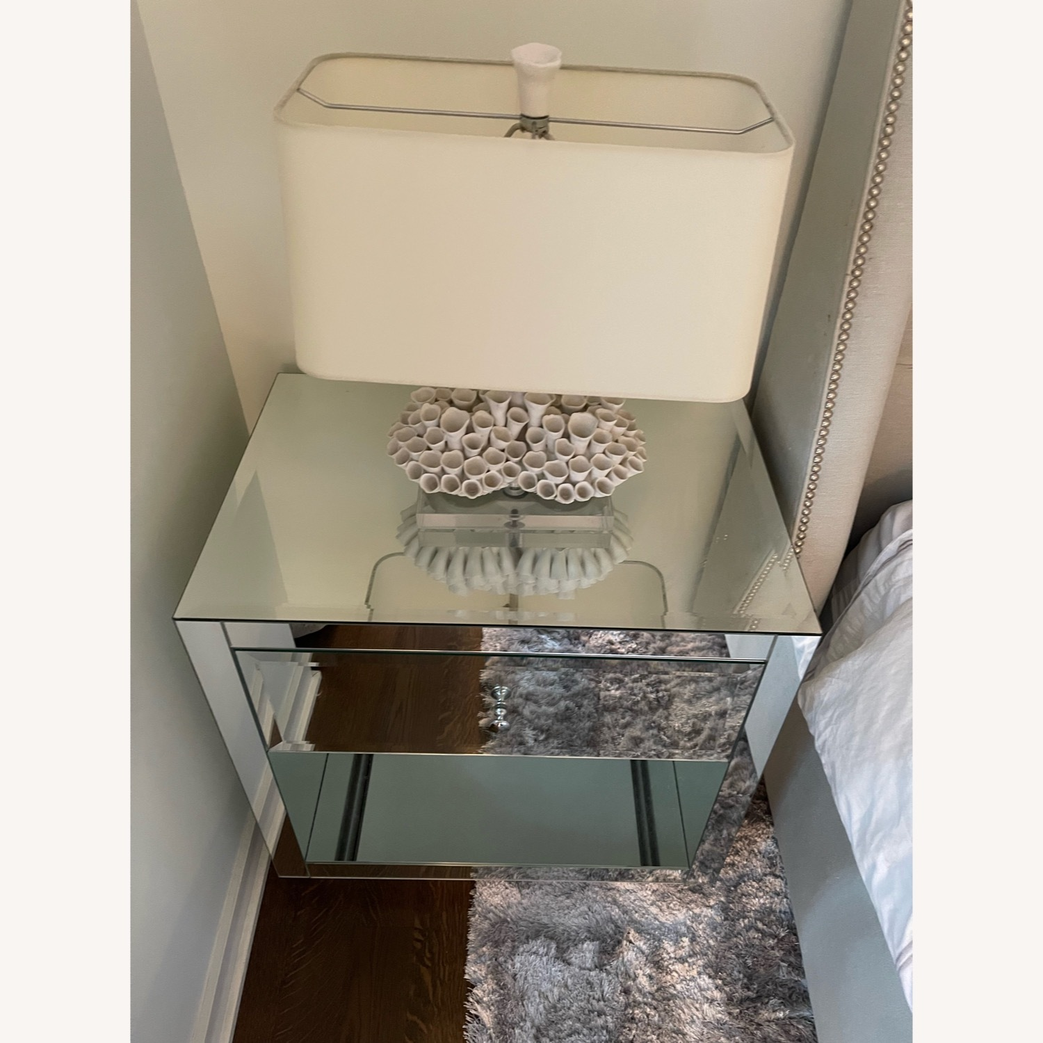 Horchow Hannah Mirrored Chest Set - image-6