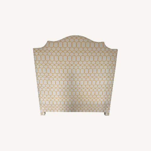 Used Custom Upholstered Headboard Full/Double for sale on AptDeco