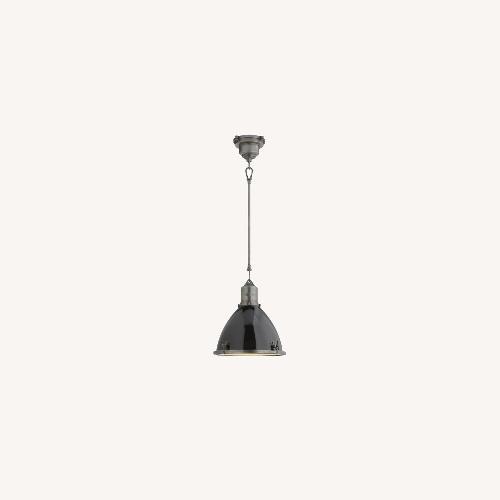 Used Visual Comfort Lighting Lights Black Pendant Light for sale on AptDeco