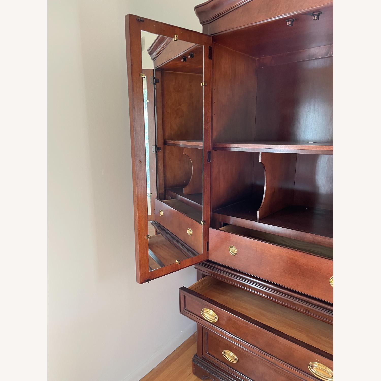 Bernhardt Mahogany Wood Armoire - image-3