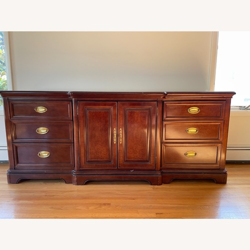 Used Bernhardt Mahogany Wood Dresser for sale on AptDeco