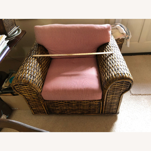 Used Ralph Lauren Woven Rattan Furniture Set for sale on AptDeco