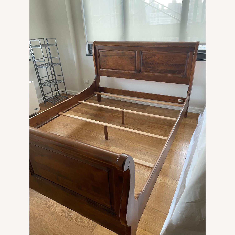 Ethan Allen Queen Bed Frame Sleigh - image-4