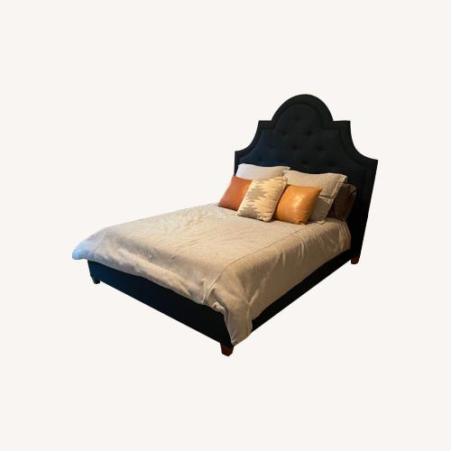 Used Jonathan Adler Woodhouse Queen Bed for sale on AptDeco