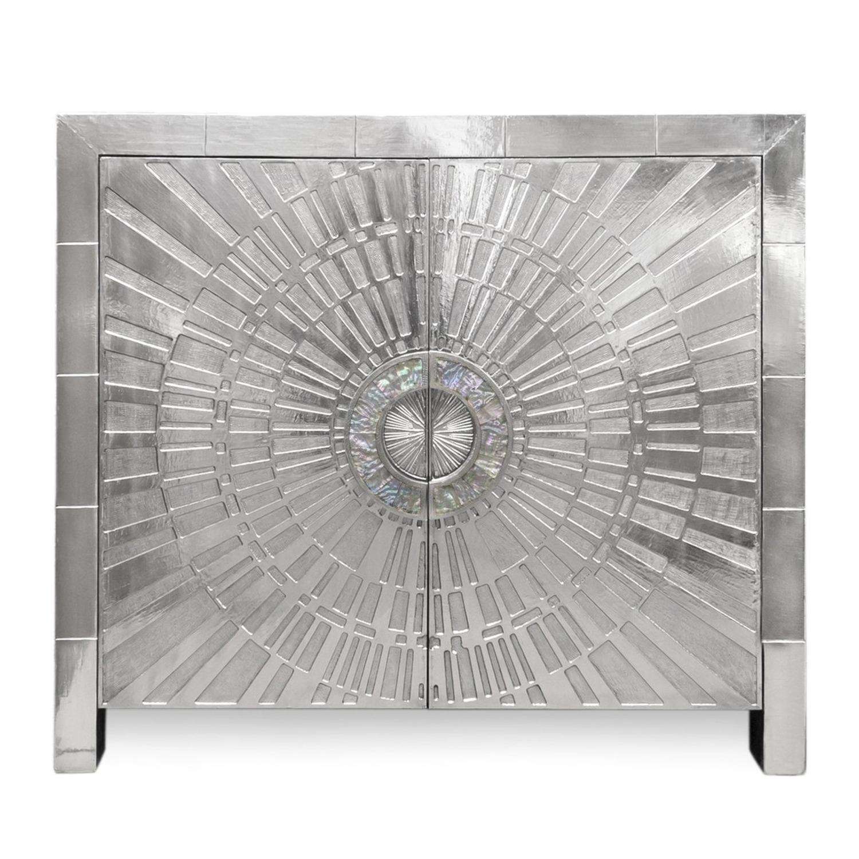 Jonathan Adler Silver Cabinet - image-4