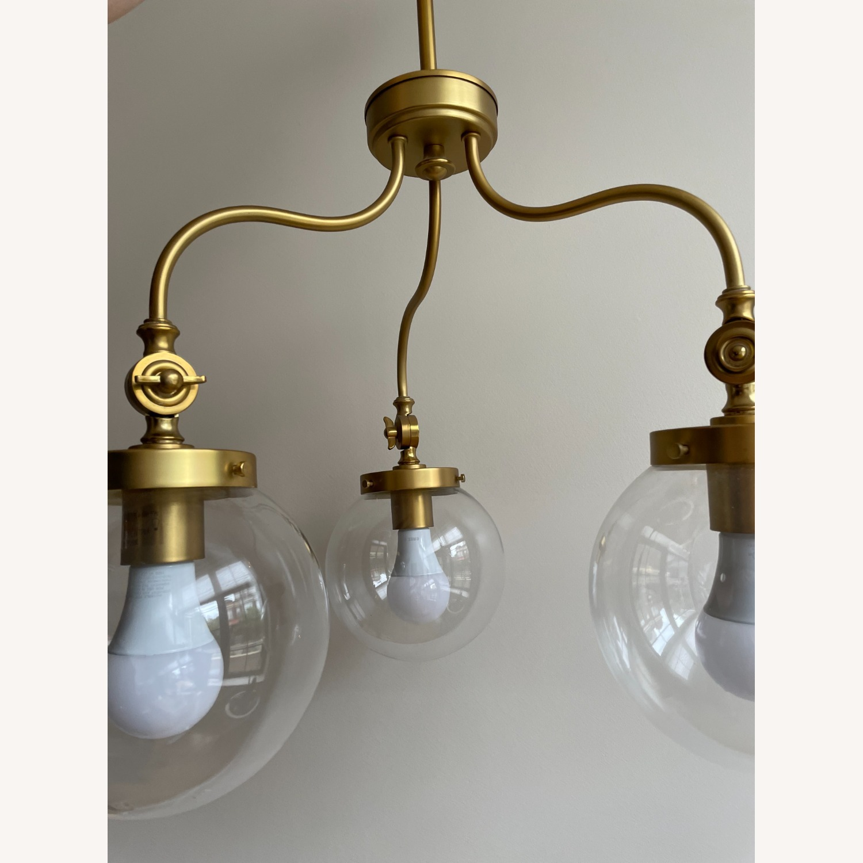 Three-light Globe Chandelier - image-3
