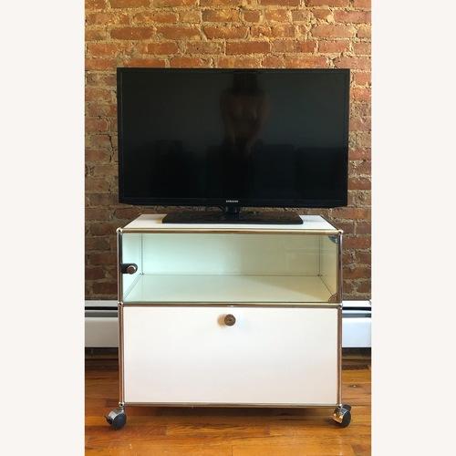 Used USM Media Storage/ Tv Stand for sale on AptDeco