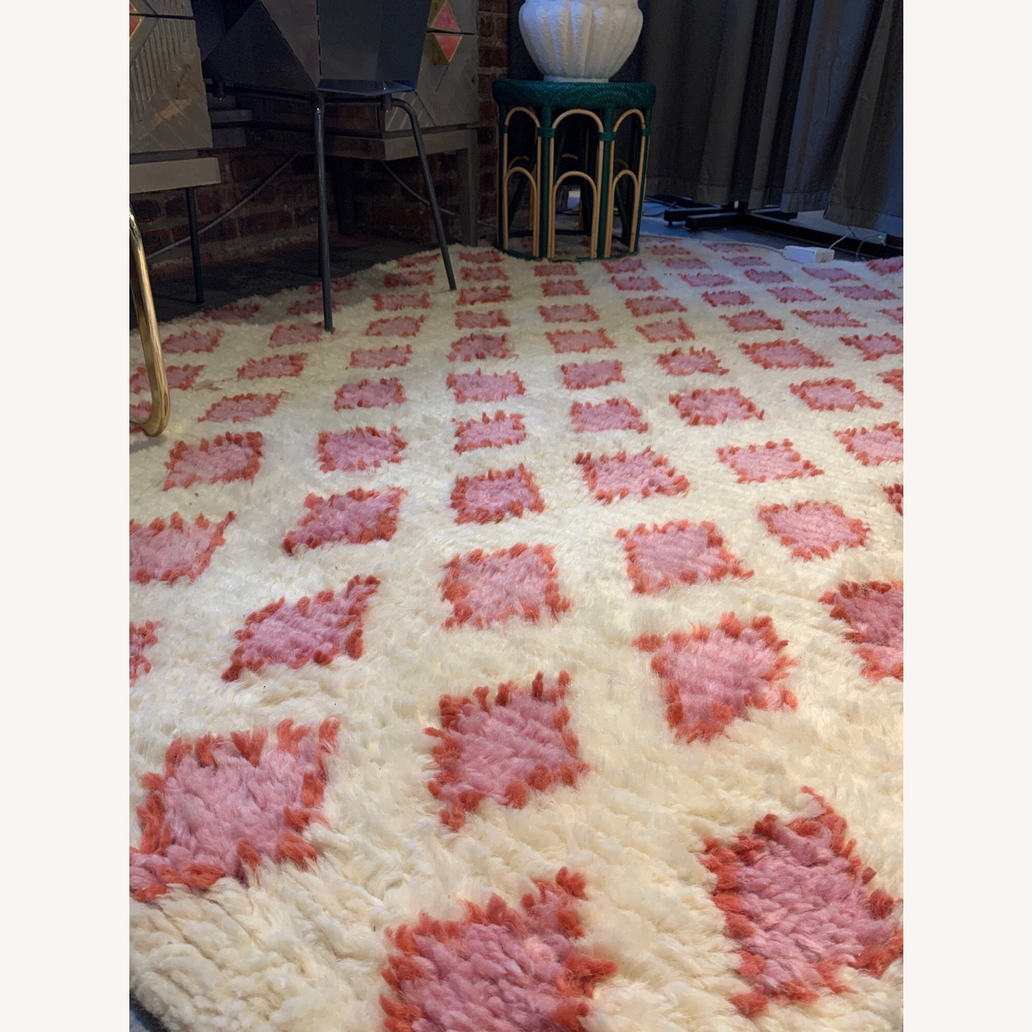 Anthropologie Hand-Knotted Alia Rug (5x8) - image-1