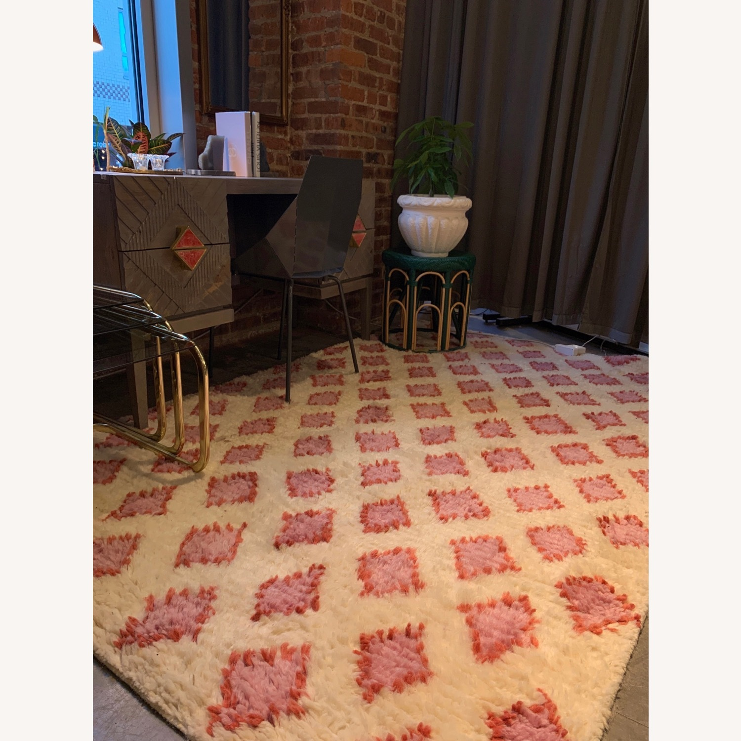 Anthropologie Hand-Knotted Alia Rug (5x8) - image-3