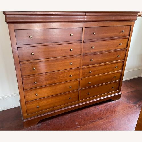 Used Grange Cherry Double Bureau for sale on AptDeco