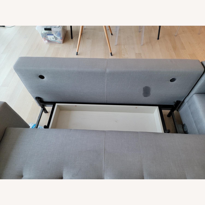 Lazzoni 4-5 seat Convertible Sectional - image-8
