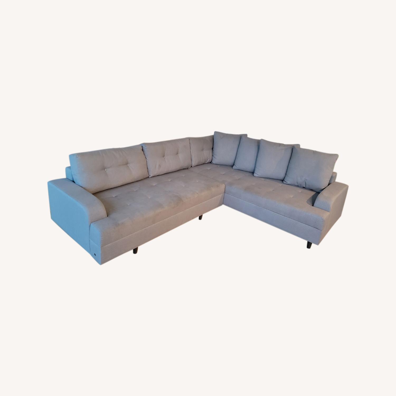 Lazzoni 4-5 seat Convertible Sectional - image-0