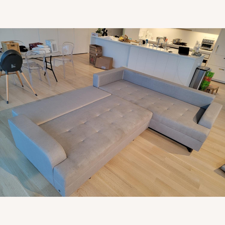 Lazzoni 4-5 seat Convertible Sectional - image-5