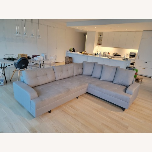Used Lazzoni 4-5 seat Convertible Sectional for sale on AptDeco