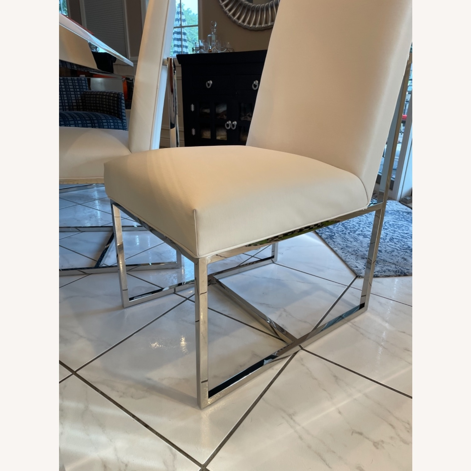 Mitchell Gold + Bob Williams Parsons Table & Chairs - image-6