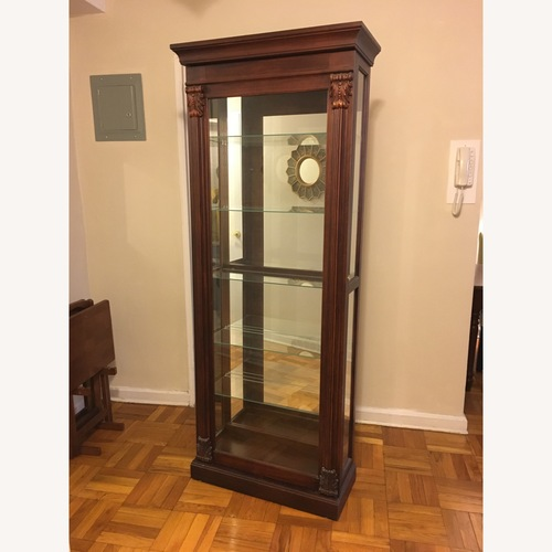 Used Fortunoff Fiona Curio Cabinet for sale on AptDeco