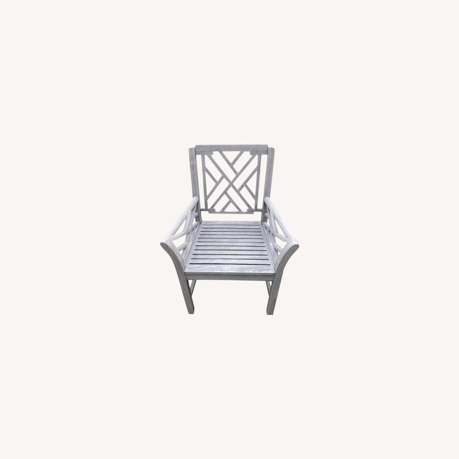 Restoration Hardware Kingston Dining Chairs - image-0