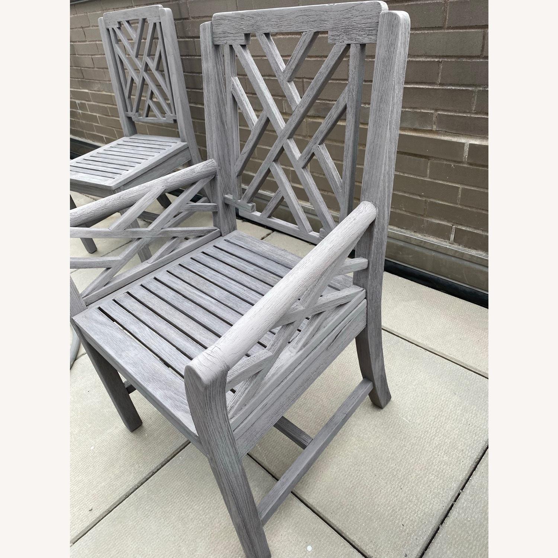 Restoration Hardware Kingston Dining Chairs - image-2