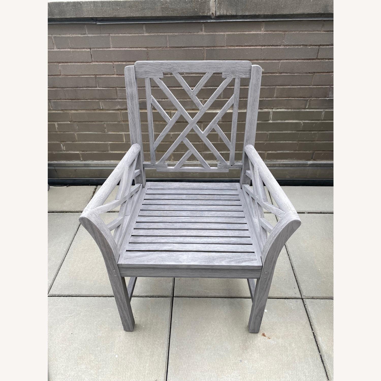 Restoration Hardware Kingston Dining Chairs - image-1