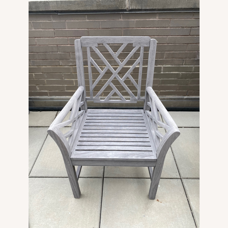Restoration Hardware Kingston Dining Chairs - image-3