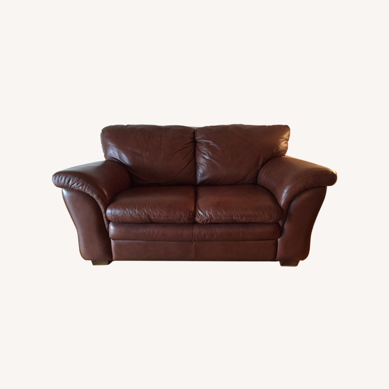 Italiana Divani Chateau dAx Leather Sofa - image-6