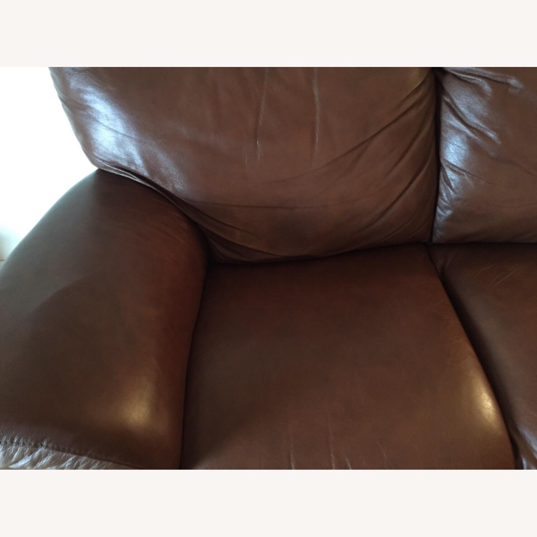 Italiana Divani Chateau dAx Leather Sofa - image-1
