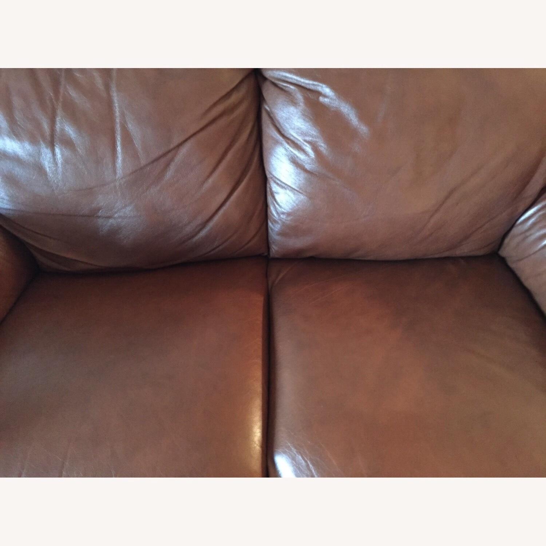 Italiana Divani Chateau dAx Leather Sofa - image-2